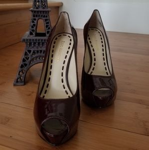 Enzo Angiolini patent leather shoes
